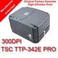 TSC TTP-342E Pro barato precio de ganga barato 300 DPI impresora de etiquetas de código de barras de Escritorio de Transferencia Térmica y Térmica Directa 1D 2D de código de barras