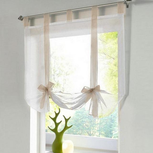 Tende di tulle solido decorazioni complementi arredo per le finestre ...