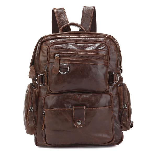 J.M.D J.M.D High Quality Simple Design Classic Vintage Backpacks Multi Pockets Travel Bags Fashional School Bag For Young 7042Q xyx q simple