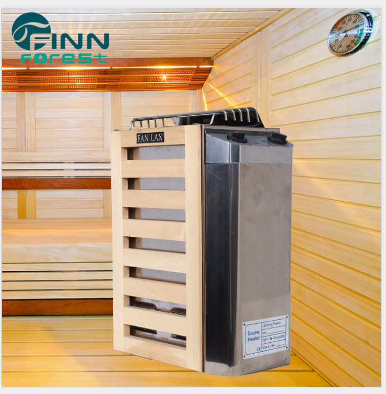 Floor Standing 3kw/3.6kw 220v Temperature Adjustment Sauna Stove with In Side/Out Side Control for Sauna Steam Room