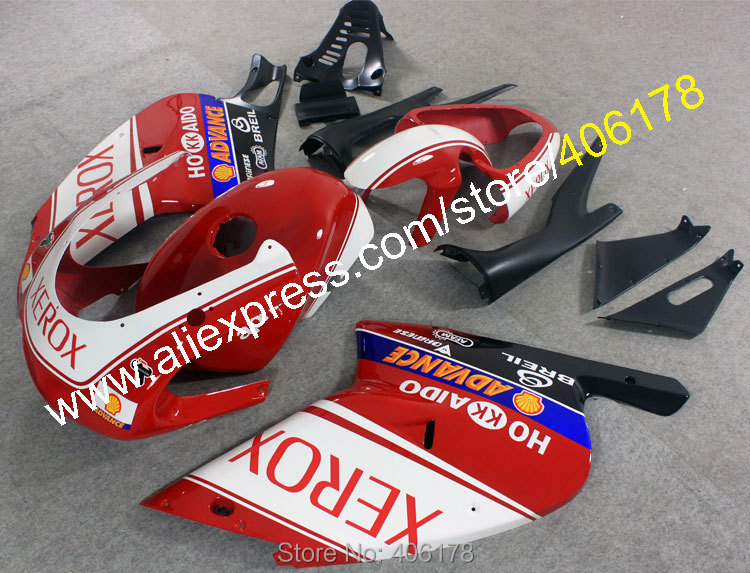 Hot Sales,RS125 Motorcycle Fairings For Aprilia RS125 2001-2005 RS 125 01-05 RS125 XEROX ABS Fairing Motorcycle Parts