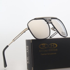 Image 3 - النظارات الشمسية المستقطبة الرجال مزدوجة شعاع تصميم الرجعية القيادة نظارات شمسية رجل الطيار النظارات الشمسية المضادة للأشعة فوق البنفسجية lrest دي سول hombre PE200