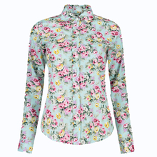Casual Plus Size Women Blusas Shirt Women Tops Printed Blouse  Blusas Feminina Long Sleeve Turn-down Collar Women Clothing