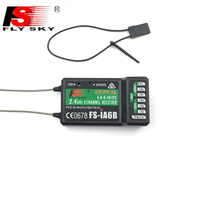 Flysky 2 4G 6CH FS IA6B IA6B Receiver PPM PWM Output With IBus Port Compatible With