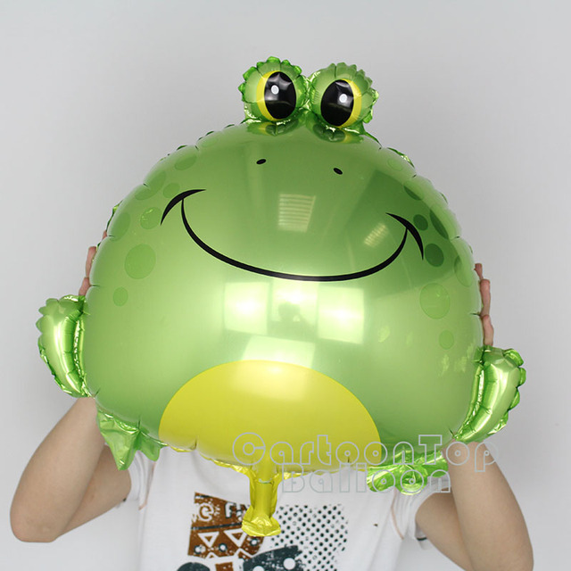 New Arrival 10pcs Lot 25inch Frog Helium Balloon Baby Shower Animal