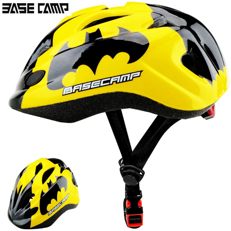HOT The Avengers UltraLight Kids Bicycle Helmets Children Cycling Helmet City Road Bicycle Helmet Outdoor Sports Riding Skating
