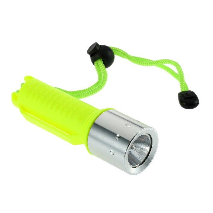 Special diving flashlight, waterproof light LED flashlight