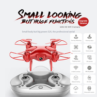 Intelligent Drone Stable Gimbal Performance Wifi FPV 480P/720P HD Camera 360 Degree Roll with Storage Bag Quadcopter