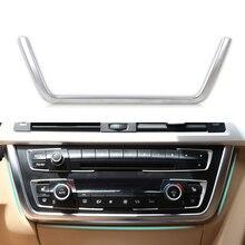 CITALL Chrome Frontale del Cruscotto Center Console di Figura di U di Copertura Trim per BMW 3 Serie 4 F30 F31 F32 F34 F36 316 318 320 420 2013-2015