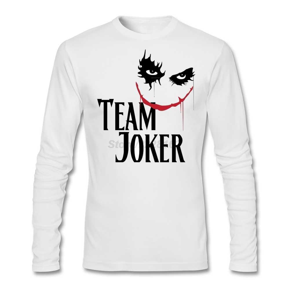 Мужские шутки на вас музыкальная тема футболки команда Джокер Awesome полный рукав футболка для молодежи Хлопок топы