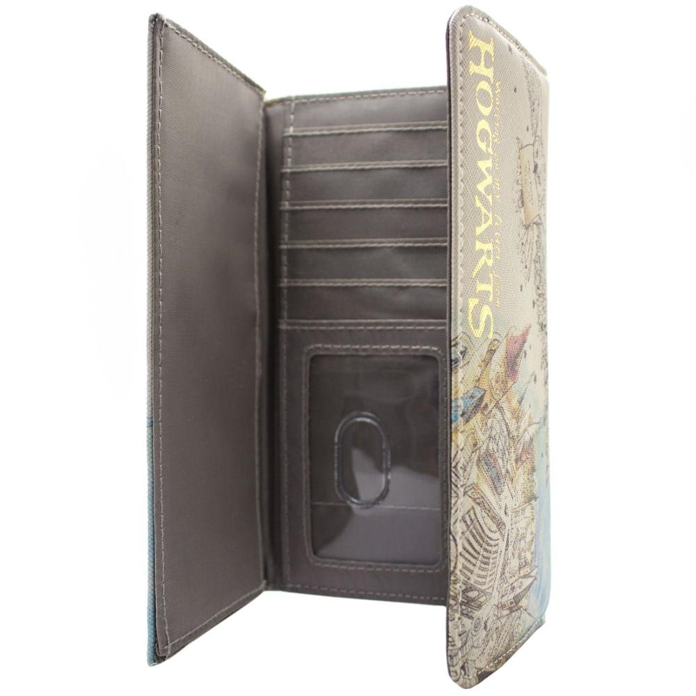 Woman Wallet Waiting On My Letter Hogwarts White Coin & Card Purse PU Fashion Wallet  Womens Wallets Harri Potter Wallet