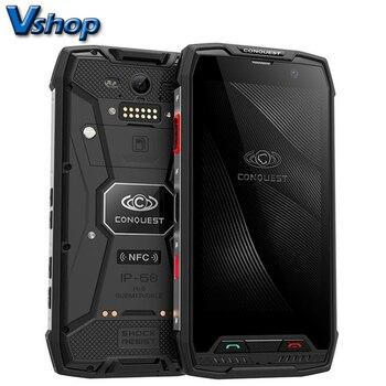 Conquest S11 смартфон с 5-дюймовым дисплеем, восьмиядерным процессором, ОЗУ 6 ГБ, ПЗУ 128 ГБ, Android 7,0, 4G