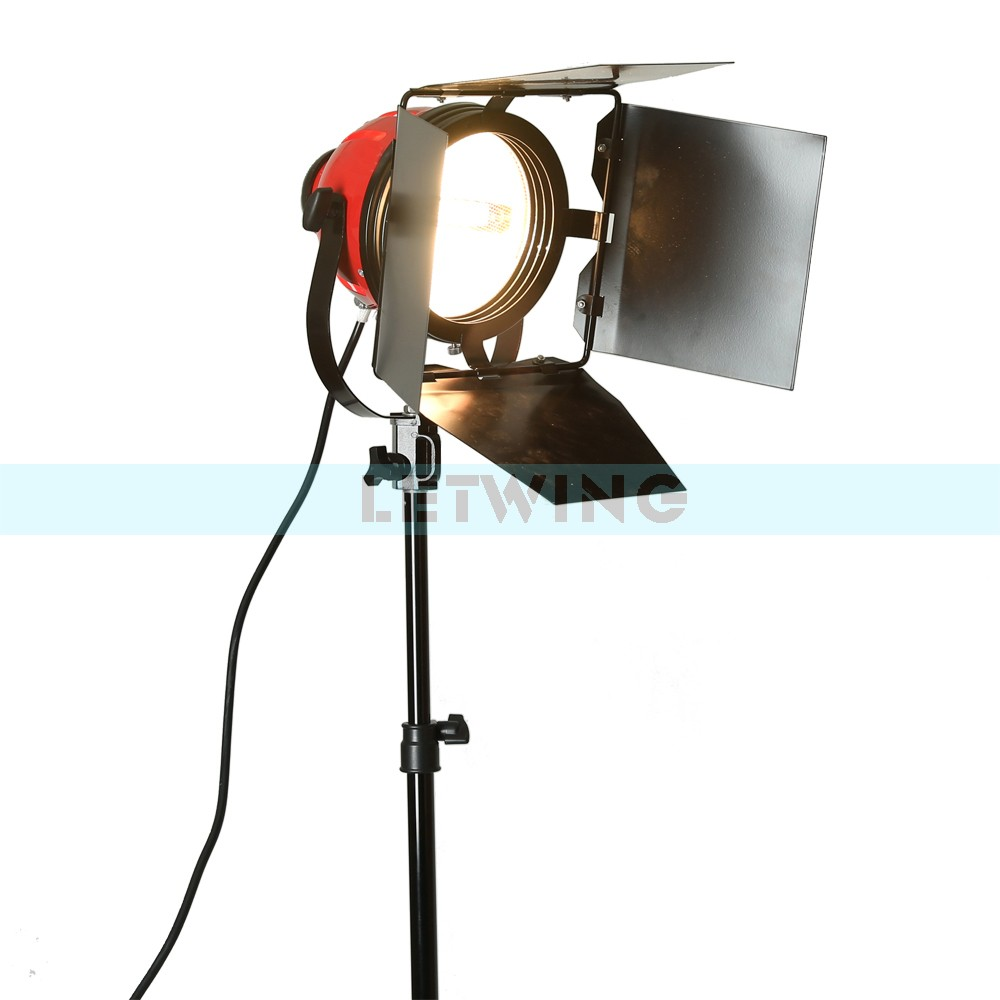 Red Head LED800W 800W Version 3200K Studio Video Light with Dimmer And Heat Releasing Ring Continuous Lighting 110V ashanks 800w studio video red head light with dimmer continuous lighting bulb free shipping