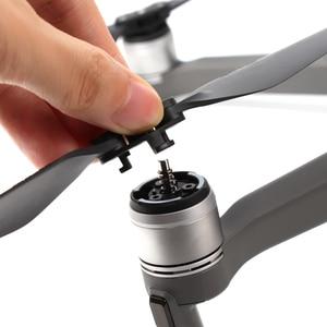 Image 3 - 4 쌍 mavic 2 pro/zoom 8743f dji mavic 2 pro/zoom drone 액세서리 용 저소음 퀵 릴리스 프로펠러 블레이드