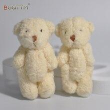 5PCS 2017 New Kawaii Small Teddy Bears Plush Soft Toys Pearl Velvet Teddy Dolls For Children