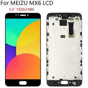 """Image 4 - 5,5 """"Оригинальный ЖК + рамка для MEIZU MX6 ЖК дисплей кодирующий преобразователь сенсорного экрана в сборе запасная часть 100% Протестировано без битых пикселей"""