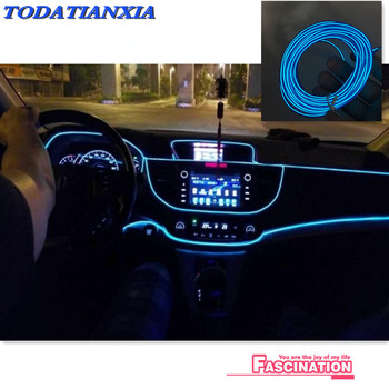 2019 heat Car Interior Atmosphere Lights Styling For BMW E46 E52 E53 E60 E90 E91 E92 E93 F30 F20 F10 F15 F13 M3 M5 M6 X1 X3 X5 image