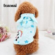 Gomaomi сладкий Pet свитер для собаки для кошки Щенок жилет теплая Hoodeie верхняя одежда, жакет