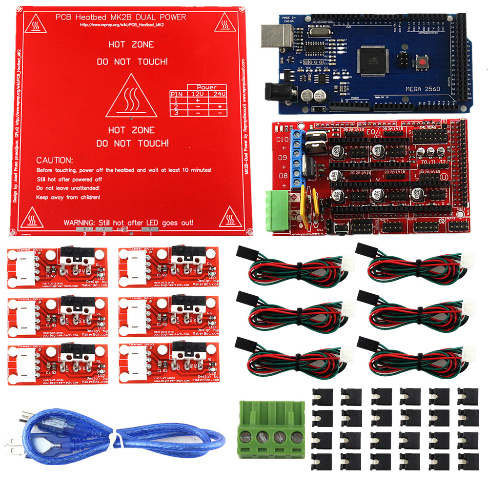 CNC 3d-drucker Kit für Arduino Mega 2560 R3 Development Board + RAMPS...