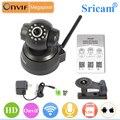 Sp012 sricam wi-fi hd 720 p câmera ip indoor camera pan/tilt onvif visão noturna infravermelha suporte motion detecção de duas vias de áudio 128g cartão