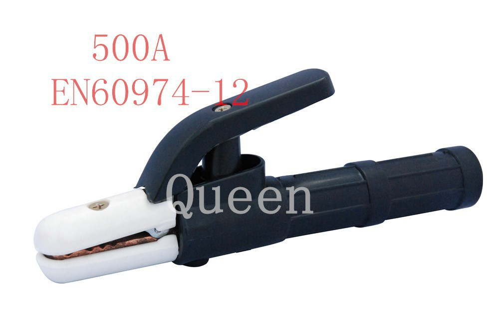 ФОТО 2014 high quality 500 Arc welding clamp Electrode welding holder 2.5 Meter Lead Cable EN60974-12 FREE SHIPPING