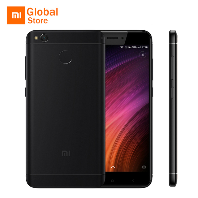 """Оригинальный Xiaomi Redmi 4x4 x Pro премьер 4 ГБ Оперативная память 64 ГБ Встроенная память мобильного телефона Snapdragon 435 Octa core Процессор 5.0 """"13MP Камера 4100 мАч MIUI8"""