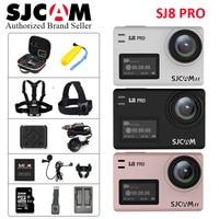 Ambarella H22 Чипсет оригинальный SJCAM SJ8 Pro 4k WiFi экшен камера Сенсорный экран EIS стабилизации Спорт DV полный набор аксессуаров