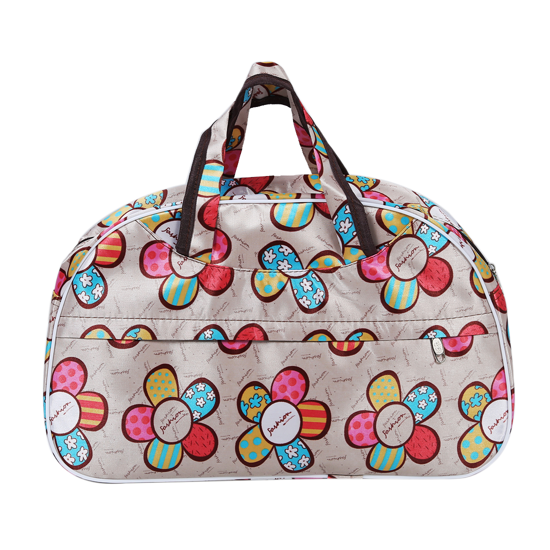 Women Bag Luggage-Bags Canvas Hand Large Waterproof Oxford HEBA Letters Chic-Fashion
