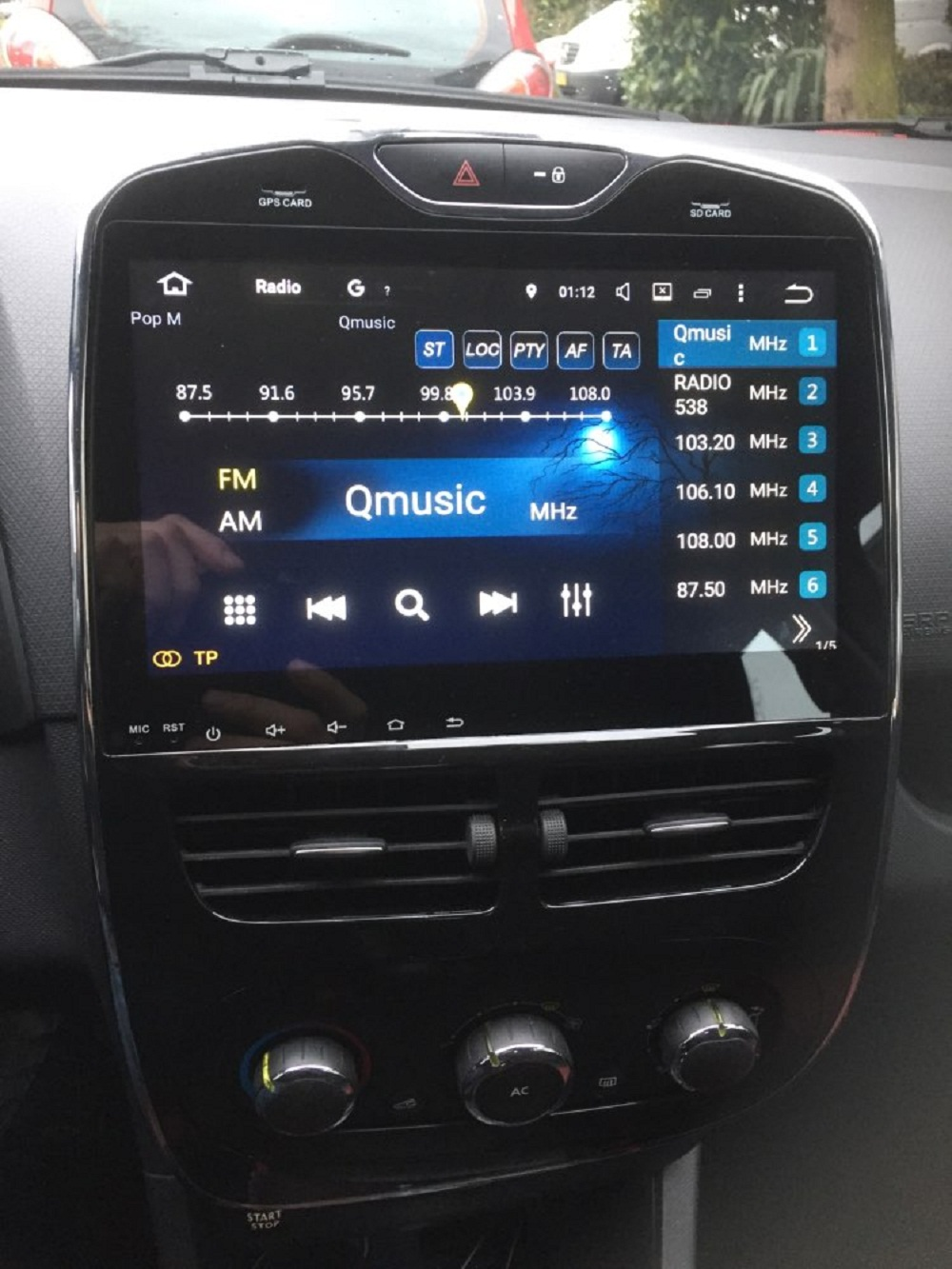 4gb ram 10 1 android 8 0 car radio audio gps for renault. Black Bedroom Furniture Sets. Home Design Ideas