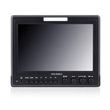 """Feelworld Official 7"""" Aluminum Design IPS 1280x800 Camera-Top Monitor with Waveform,Scopes and HDMI converted to SDI output Z7(China (Mainland))"""