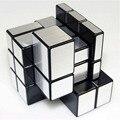 Fundido Recubierto De alambre Estilo Del Dibujo Magia Puzzle Challenge Cubos Espejo Puzzle Magnético Imán Bolas Granos Del Espaciador de la Educación Juguete Regalos