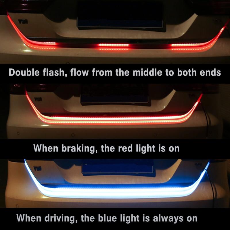 Flowling автомобилей Хвост поворотов полосы сзади торможения световой сигнал для Kia Rio K2 3 Ceed Sportage Sorento Cerato подлокотник soul Picanto