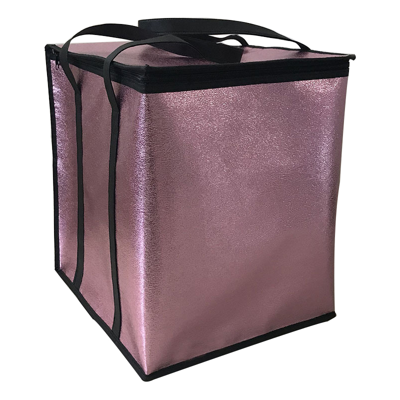 Non-woven Big Cooler Bag Foldable Large Insulated Bag Portable Cooler Box Food Packing Container Lunch Bags Thermal Ice Pack