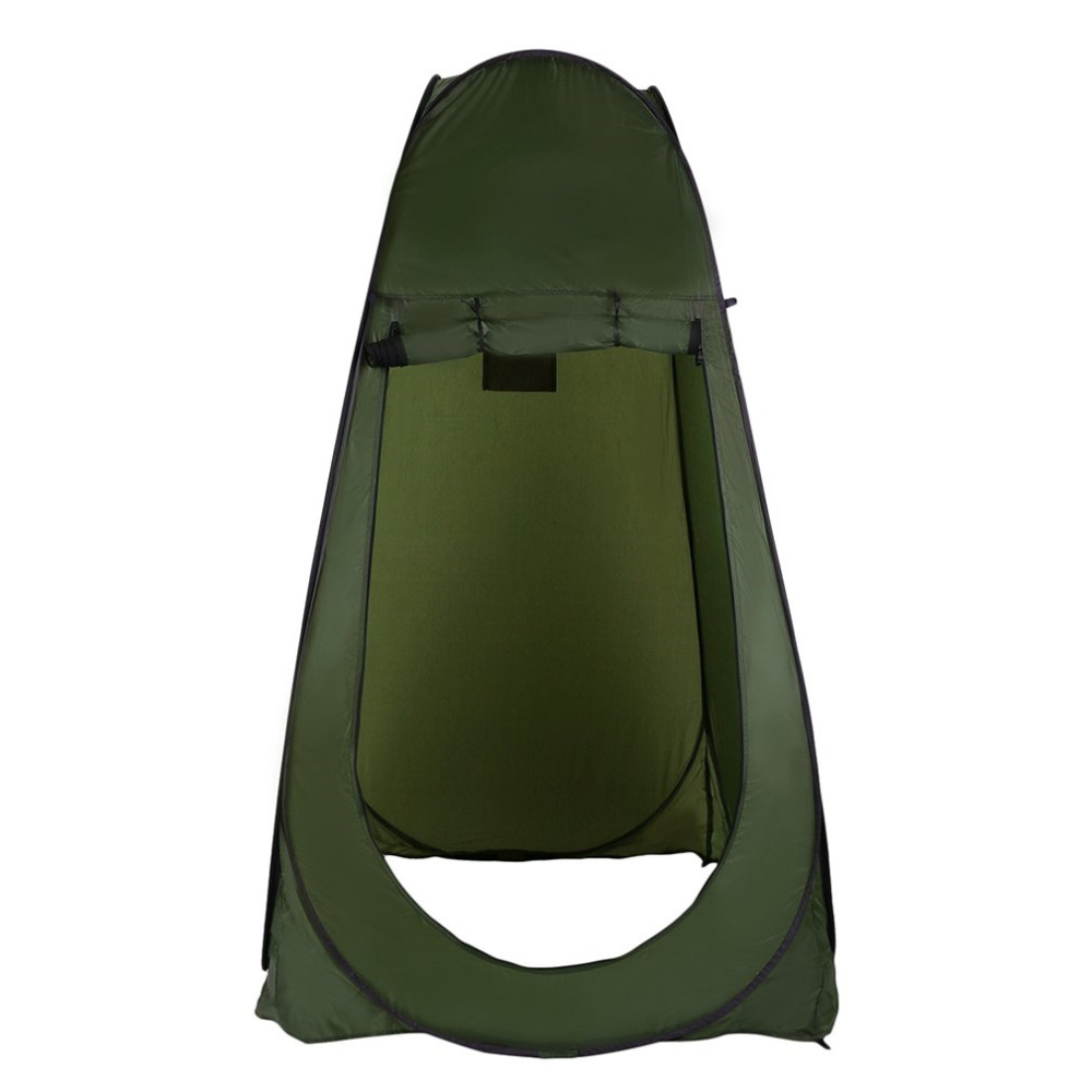 Portable Outdoor Pop Up Tent Camping Shower Bathroom Privacy Toilet Changing Room Shelter Single Moving Folding Tents Hot Sale portable shower tent outdoor waterproof tourist tents single beach fishing tent folding awning camping toilet changing room