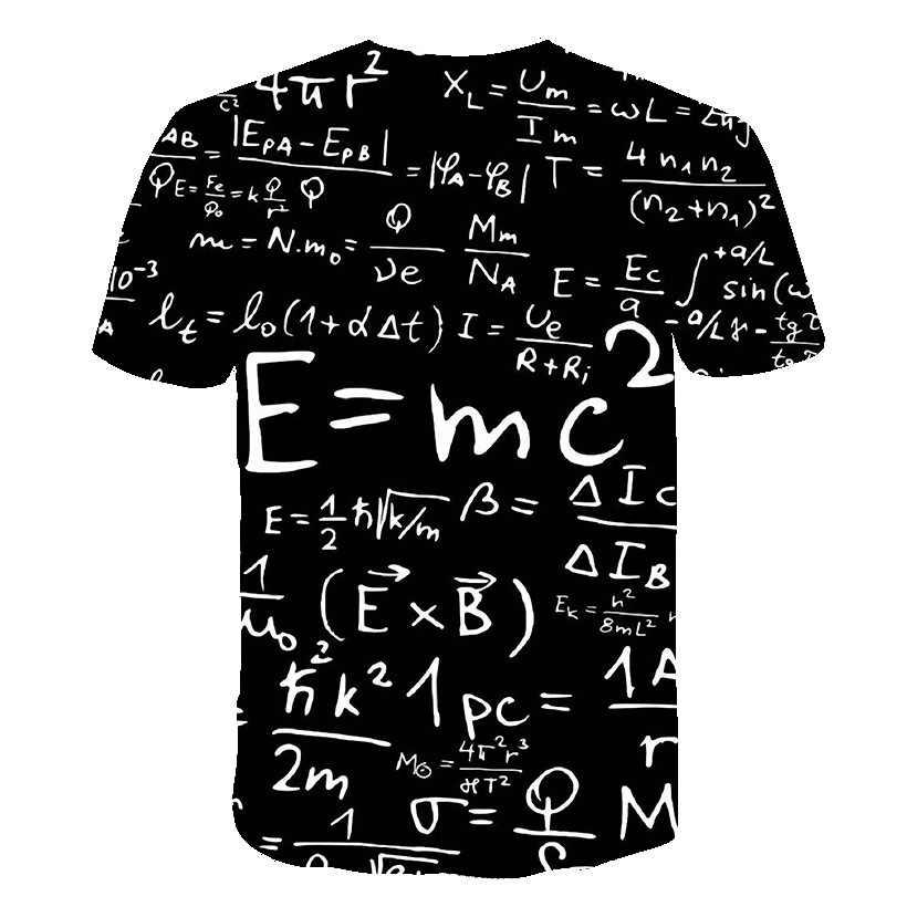 2019 Новая продвинутая Математика футболка Забавный персонаж Джокер брендовая одежда дизайн 3d Футболка Летний стиль футболки топы Принт