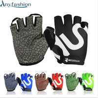 Anyfashion Gym Gloves Men Women Body Building Half Finger Fitness Gloves An Slip Weight Lifting Sports