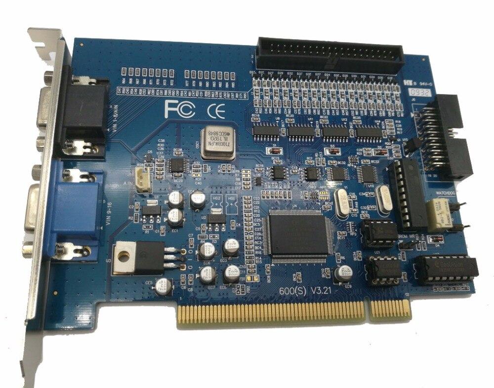 16 Chs dvr system dvr card V600 V7.05 16ch video &1 chs audio 30fps(NTSC)25fps(PAL)  v7.05 software Video capture card hd 1280 720p ahd dvr card windows pci e 4channel audio video capture card