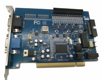 16 Chs dvr system dvr card V600 V7.05 16ch video &1 chs audio 30fps(NTSC)25fps(PAL) v7.05 software Video capture card