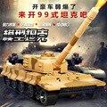 Children's toys, 1:32 alloy tank model, Pull Back tank, Military model, Caterpillar tanks