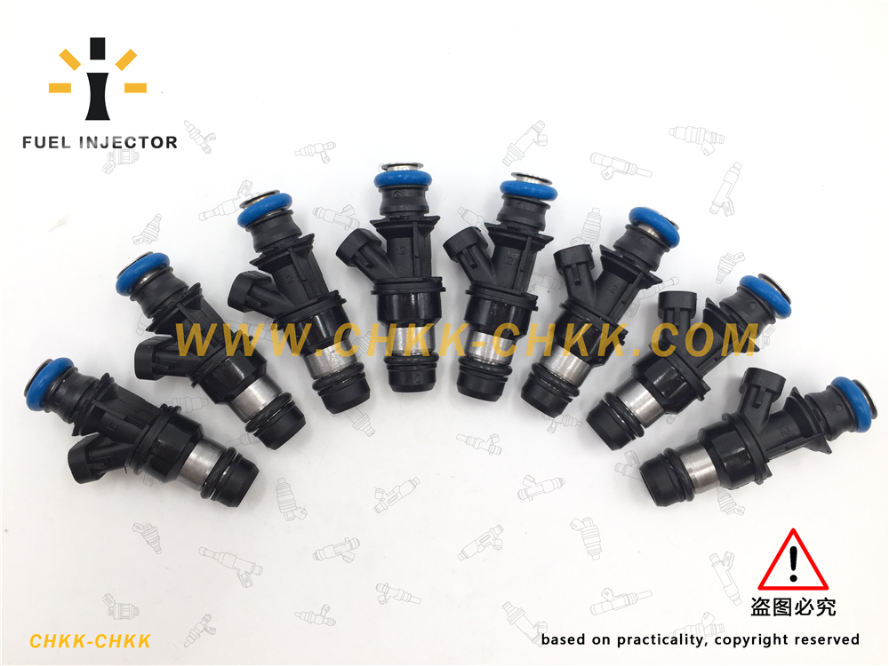 Fuel Injector Fit for Cadillac Escalade Chevrolet Express 1500 GMC Savana Silverado 3500 Hummer H2 17113553 17113698 FJ10062