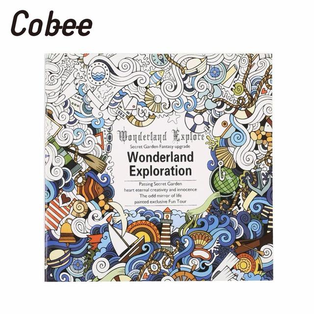 Cobee Painted color book English Coloring Book Painting Books ...