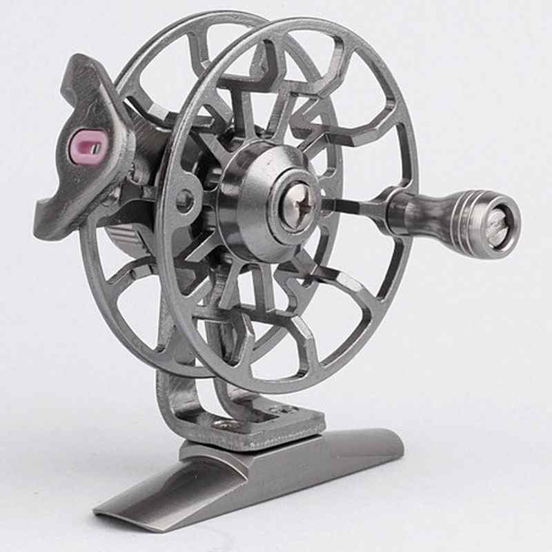 Fishing Reel Alloy Aluminium Silver Colour Weight About 50g (for L50) Right Hand Type Model L50 or G65 1pc