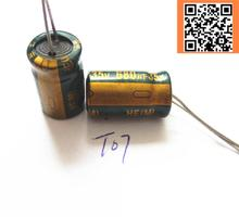 10pcs/lot T07 Low ESR/Impedance high frequency 35v 680UF aluminum electrolytic capacitor size 10*15 680UF35V