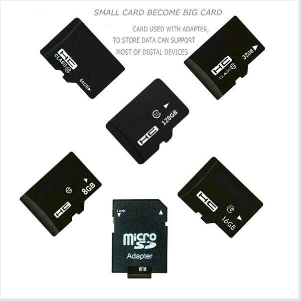 H2testw geçmek hafıza kartı 8 GB 16 GB 32 GB 64 GB 128 GB class10 4 GB sınıf 4 mikro orijinal tf sd kart flash kart telefon için