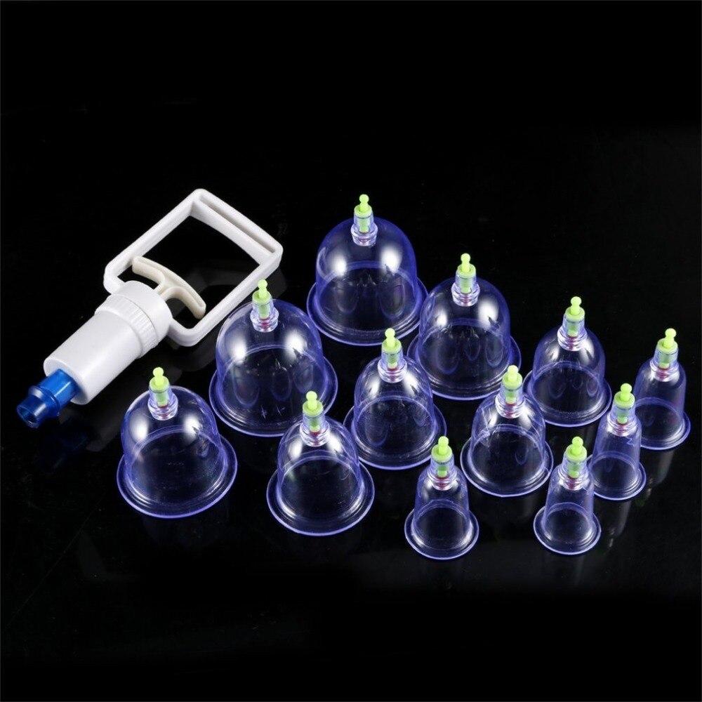 Diplomatisch Gesunde 12 Tassen Medizinische Vakuum Dosen Schröpfen Tasse Cellulite Saugnapf Therapie Massage Anti-cellulite Massager Gesundheitsversorgung Schönheit & Gesundheit