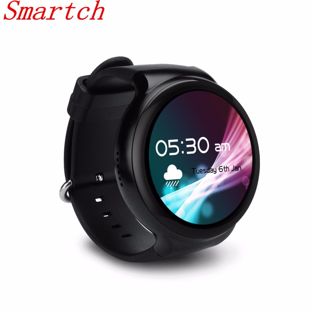 Smartch I4 Smart Watch Android 5.1 1.39 Display 400*400 3G WiFi GPS 1GBRAM/16GBROM Bluetooth SmartWatch Clock Phone for iOS And
