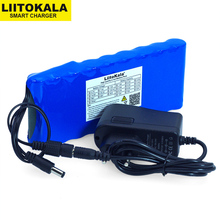 12 v 9.8Ah 9800 mAh 18650 Oplaadbare batterijen 12 V Li Ion batterij Bescherming Boord CCTV Monitor batterij + 12.6 V 1A Charger