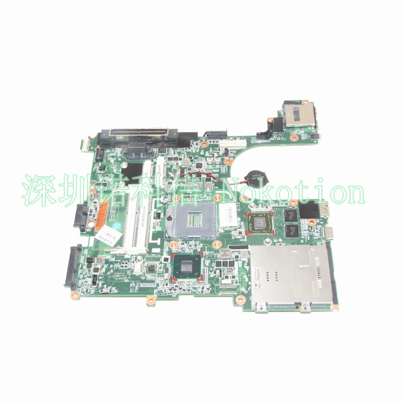 NOKOTION original 686970-001 Main board For HP Elitebook 8570P Laptop Motherboard DDR3 HM76 full test nokotion main board for hp 240 g3 laptop motherboard zs040 la a995p n3530 cpu ddr3 full test