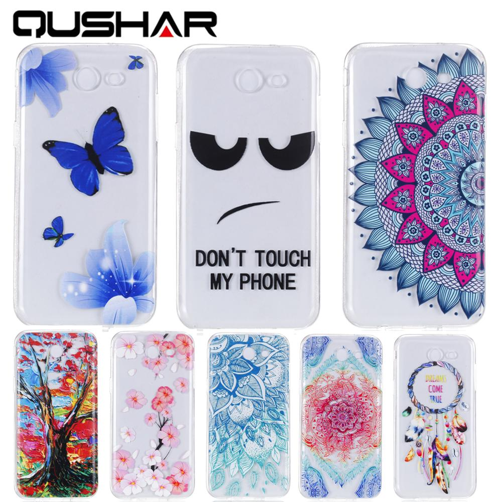 Ultra Thin TPU Silicone Soft Phone Mobile Case kryty capinha Cover Cove For Samsung Sansung Samsuns Galaxy J3 2017 J320 ...