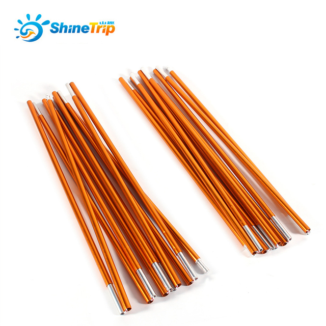 Shinetrip Outdoor Camping Tent Pole Aluminum Alloy Rod Bar Spare Replacement Support Awning Poles